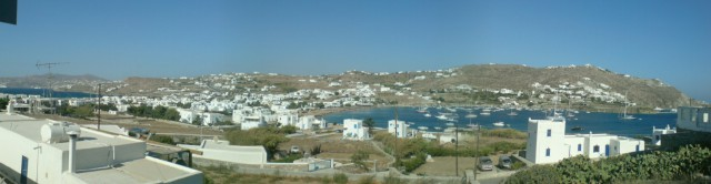 ORNOS BEACH MYKONOS PANORAMIC